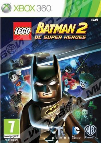 Lego batman 2 dc super heroes xbox 360 магазин