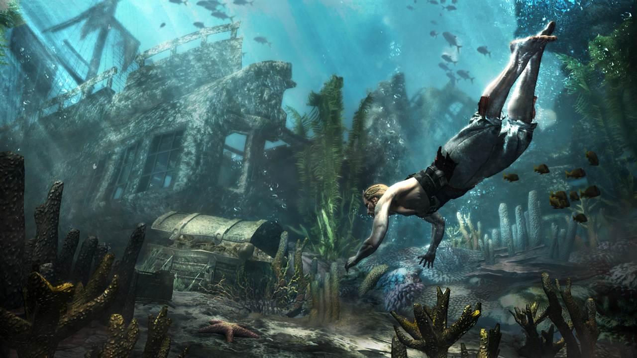 Океан в Assassin's Creed 4: Black Flag не такой уж большой, как кажется