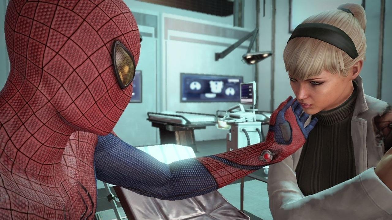 Порно игра новый человек паук